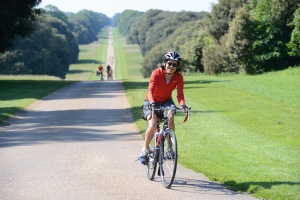 It was a nice treat to ride the grand grounds of the Holkham Hall estate. Under socialism...