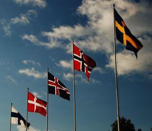 689px-Flags_of_Scandinavia