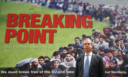 "The UK Independence Party's ""Breaking Point"" poster that was launched during the EU Referendum campaign"