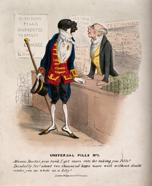 A nineteenth century British cartoon (source: Wikimedia Commons)