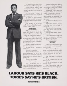 Conservative Party 1983 general election poster (see here)